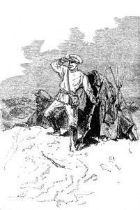 Н. Н. Каразин. Сторожевой пост. 1881 год