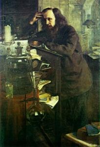 Н. А. Ярошенко. Д. И. Менделеев. 1886. Масло.