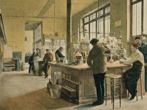 фердинанд Гэлдри, «В химической лаборатории». Париж, Франция, 1887 год.