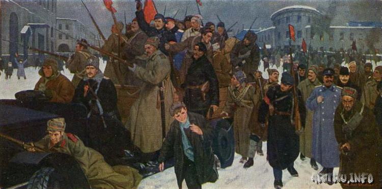 """В. Кузнецов. """"Февральская революция"""""""