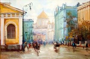 Улица Моховая. Алексей Шалаев
