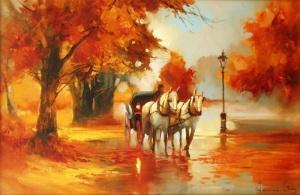 Осенняя выездка. Алексей Шалаев