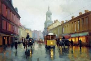 Дождь над Пятницкой. Алексей Шалаев