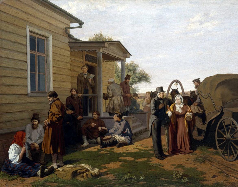 У мирового судьи. Савицкий Константин Аполлонович
