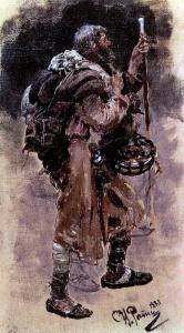 Илья Ефимович Репин: Странник. 1881