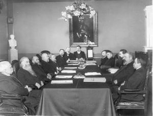Заседание правительствующего Сената. 1911