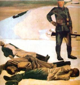 А. Дейнека. Наемник интервентов. 1931