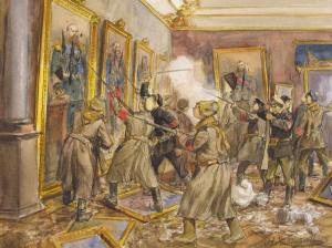 Взятие Зимнего, Владимиров Иван Алексеевич. 1918