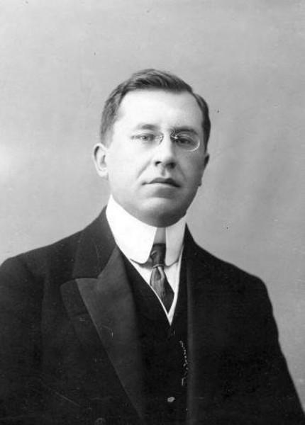 Александр Иванович Коновалов. Член Временного правительства. Петроград, 1917 г. (Хронос)