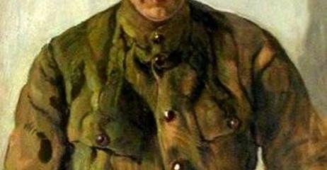 Портрет Керенского. Худ. Исаак Израилевич Бродский