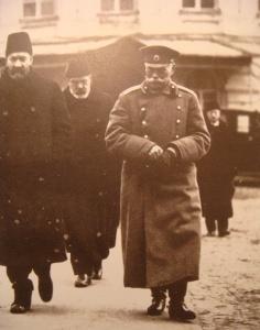М.В.Алексеев, А.И. Гучков и Г.Е. Львов