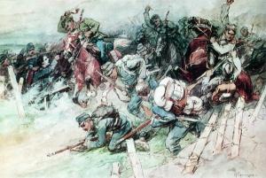 Стычка 1914 Н.Самокиш