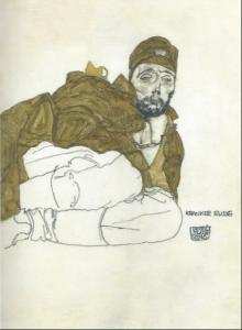 Эгон Шиле. Больной русский. 1915