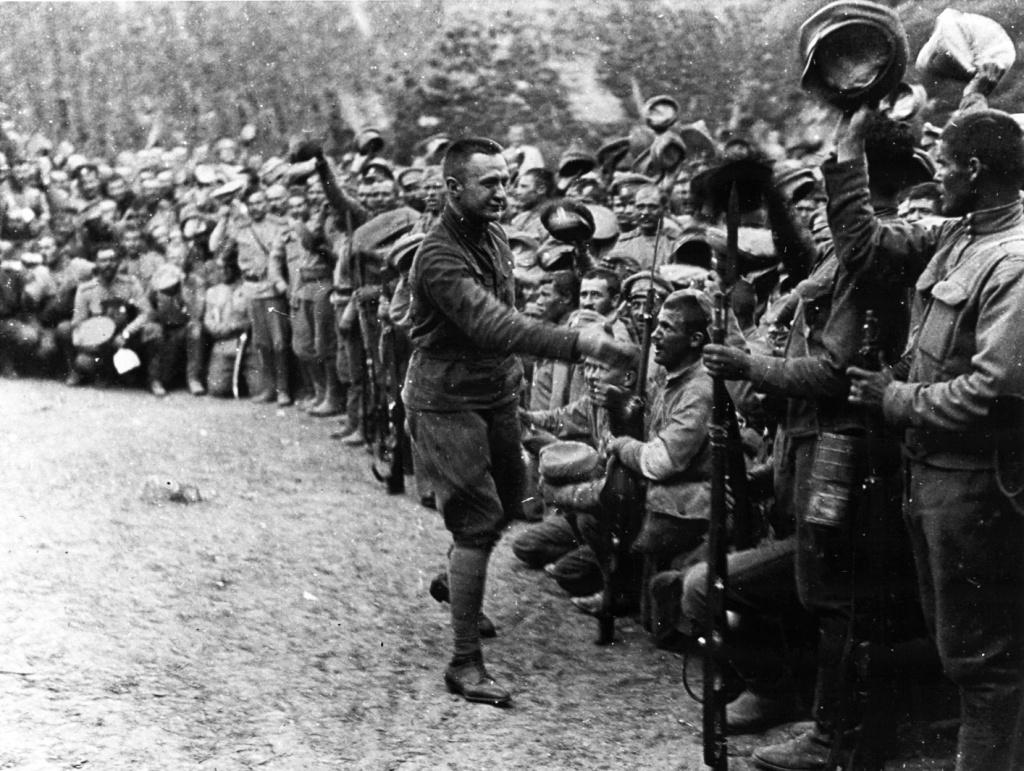 А.Ф. Керенский в армии, 1917 год