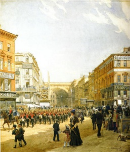 Большая Морская Улица. 1903, Беггров Александр Карлович.