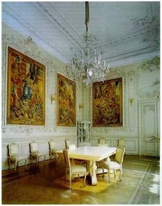 Комната, где было арестовано Временное правительство. (Малая столовая. Зимний дворец.)