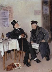 Политики, 1884. Владимир Маковский