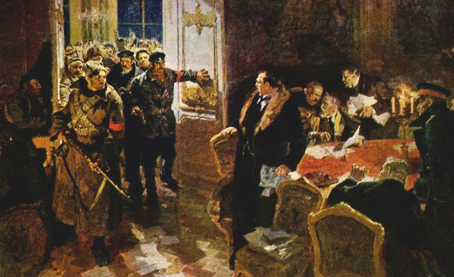 С.В. Важенин. «Арест Временного правительства»