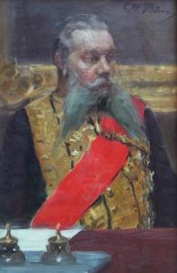 Репин И.Е. Портрет члена Государственного совета И.Н.Дурново