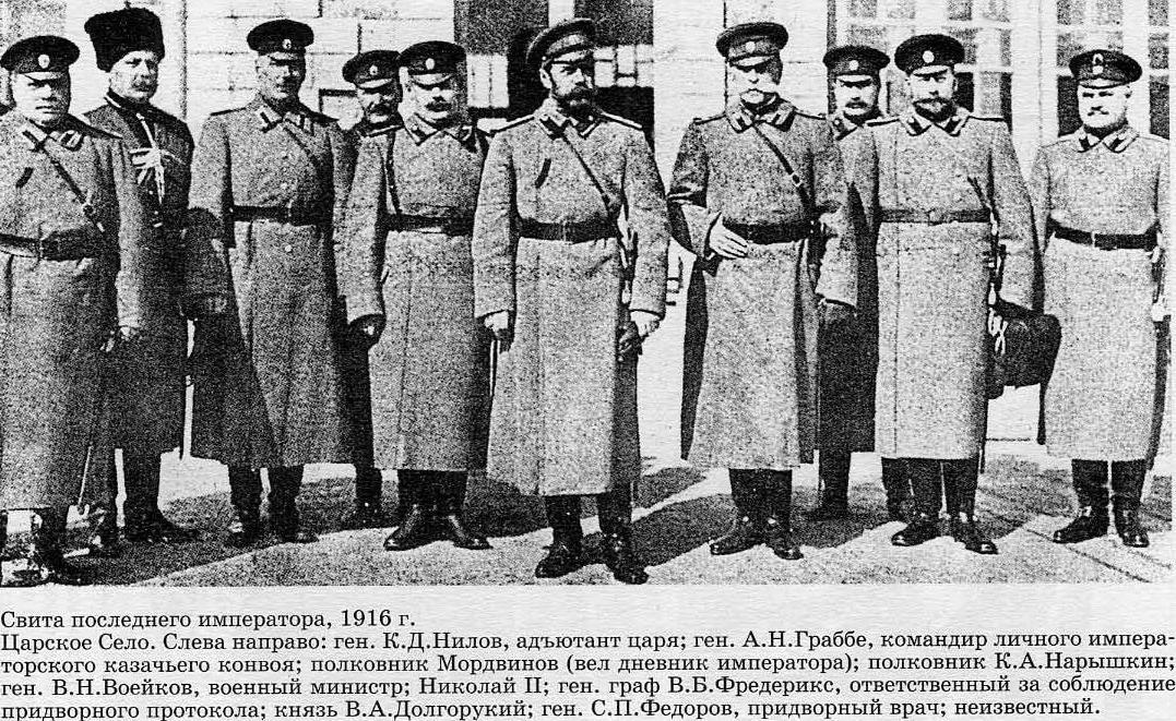 История России до 1917 года. Собственный Его Императорского Величества Конвой.