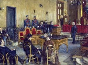 Савицкий К.А. В ожидании приговора суда (Государственный музей Революции СССР)