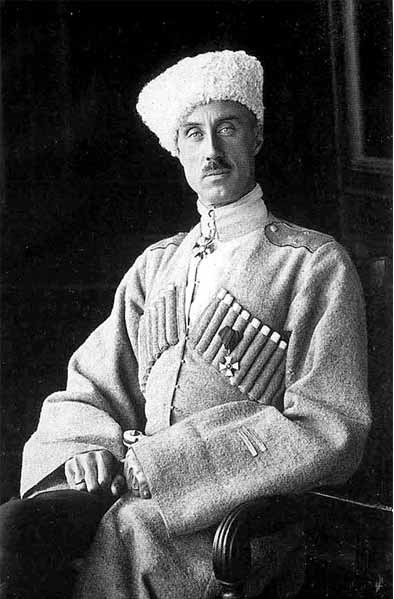 Верховный правитель Юга России генерал-лейтенант П. Н. Врангель. Севастополь, 1920 г.