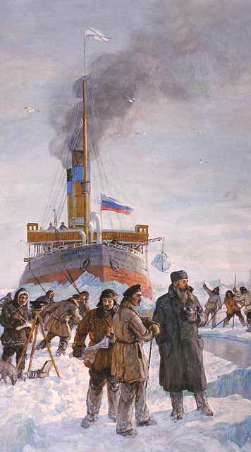 М. Г. Платунов. Первое полярное плавание ледокола Ермак в 1899 г.