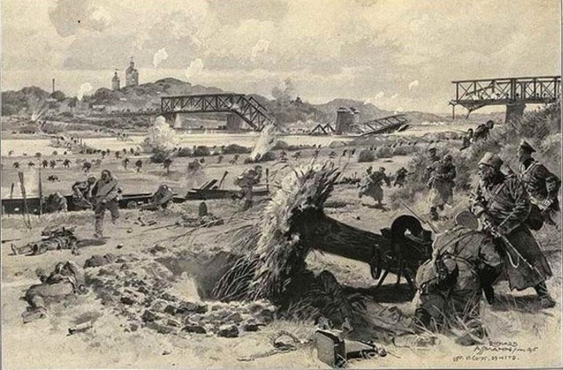 Отступление русских войск в Польше. Май 1915 год