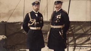 """В этот день у острова Бьёрке 24 (11) июля 1905 г. на яхте """"Полярная звезда"""" Николай II и Вильгельм II подписали Бьёркский договор."""