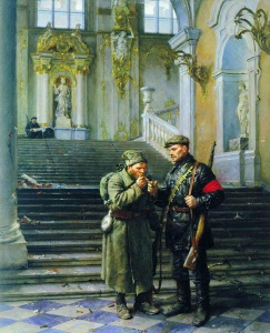 Владимир Серов «Зимний взят»