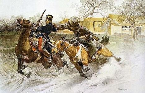 Н. Самокиш. Погоня. Русско-японская война