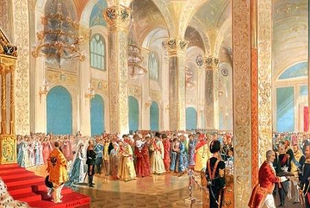 Каразин Н.Н. Государь император принимает поздравления от представителей азиатских народов