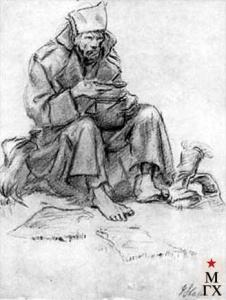 Солдат. 1922. Павел Петрович Соколов-Скаля