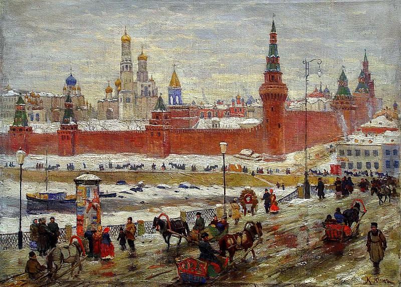 Юон Константин - Старая Москва