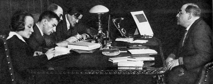 Народный комиссар просвещения РСФСР А. В. Луначарский. 1928 г.