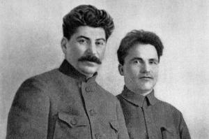 Иосиф Сталин и Сергей Киров