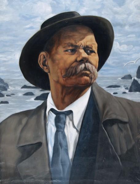 А.М. Горький. Портрет работы И.И. Бродского. 1937 г