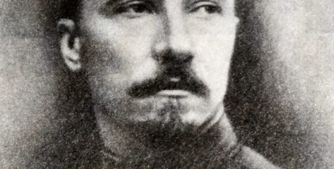 Николай Ильич Подвойский. Фотография 1917 года.