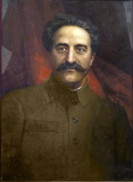 Портрет Григория Константиновича (Серго) Орджоникидзе, автор: Эберлинг Альфред Рудольфович