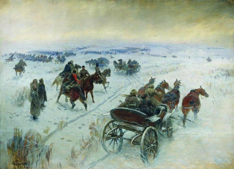 Сражение 1 Конной Армии под Егорлыком