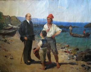 Климонов В Т. Ленин на Капри