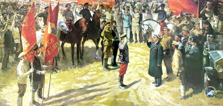 Н. Соломин. Весна 1919 года. 1986