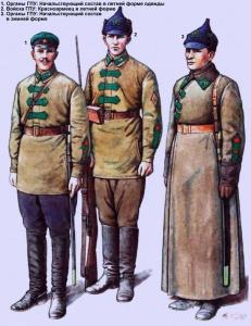 Органы и войска ГПУ (1922 год) - Худ. Валерий Куликов