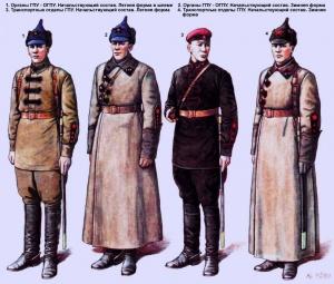 Органы ГПУ - ОГПУ (1923 год) - Худ. Валерий Куликов