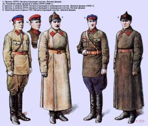 Органы и войска ОГПУ (1924 год) - Валерий Куликов