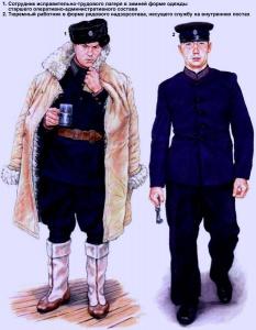 Сотрудники Главного Управления лагерей НКВД (1936 год) - Худ. Андрей Каращук