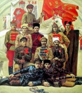 В. Псарев. Красные командиры. 1985 -