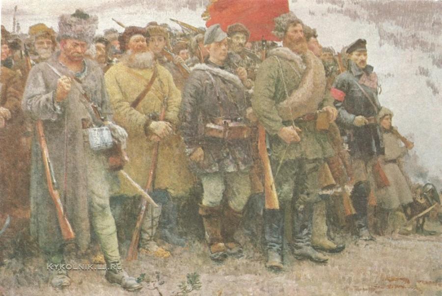 Герасимов Сергей Васильевич (1885–1964) «За власть Советов!» 1957