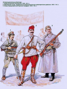 Интернациональные бригады. Рисунки Андрея Каращука