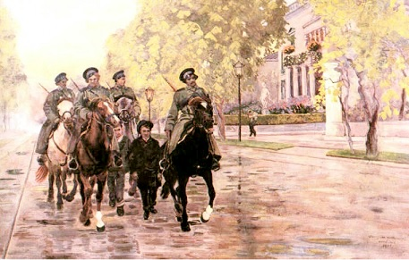 Весна 1905 года. Картина польского художника Станислава Масловского